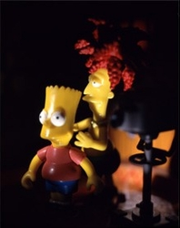 The Simpsons, Choking Bart