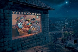 The Wishing Star <br>Pinocchio Canvas