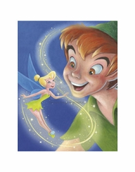 Tinker Bell and Peter Pan - A Touch of Magic