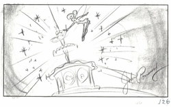 Tinker Bell Short Film Story Board 2008
