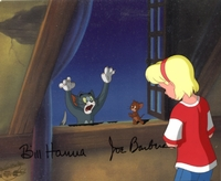 Tom & Jerry signed cel  - Tom & Jerry