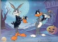 Trick Or Treat - Daffy Duck