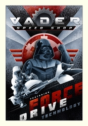 Vader Speed Shop <br> (Canvas)