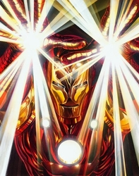 Visions: Iron Man Canvas