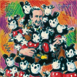 Walt and Friends Canvas