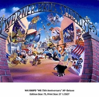 WB 75th Anniversary (AP) - Deluxe Litho - Limited Editions