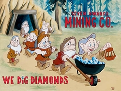 We Dig Diamonds from Snow White