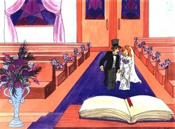 Wedding Production Cel #1