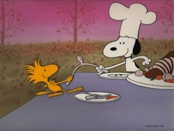 Wishbone Wishes from A Charlie Brown Peanuts Thanksgiving