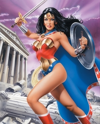 Wonder Woman Strength <br> Among the Ruins