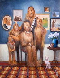 Wookiee Family Portrait<br>(Paper)