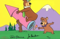 Yogi on a Rocket - Yogi Bear