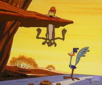 Zoom And Bored - Wile E. Coyote & Road Runner