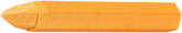 "1/2"" Hex  Yellow Crayon (Box of 12)"