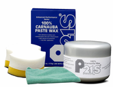 100% Carnauba Paste Wax, Microfiber Cloth Kit