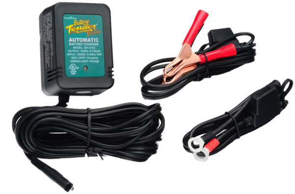 Image of 12 Volt Battery Tender Junior Battery Charger .75 Amps
