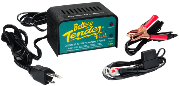 Image of 12 Volt Battery Tender Plus Battery Charger 1.25 Amps