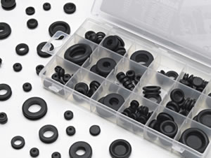 Image of 125 Pc Rubber Grommet Assortment