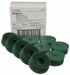 "3M 2"" Green Coarse Bristle Discs (10 Pack)"