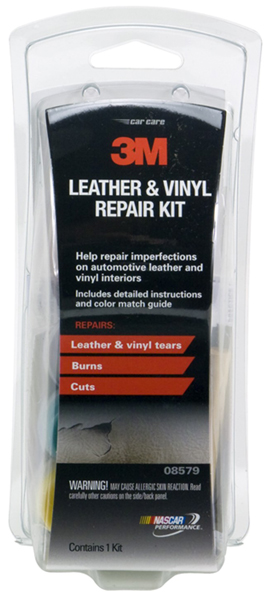 3m auto leather vinyl repair kit mmm08579. Black Bedroom Furniture Sets. Home Design Ideas