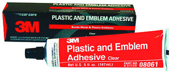 Image of 3M Clear Plastic and Emblem Adhesive 5 oz