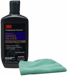 3M Imperial Hand Glaze Show Car Finish (16 oz) & Microfiber Cloth Combo Kit