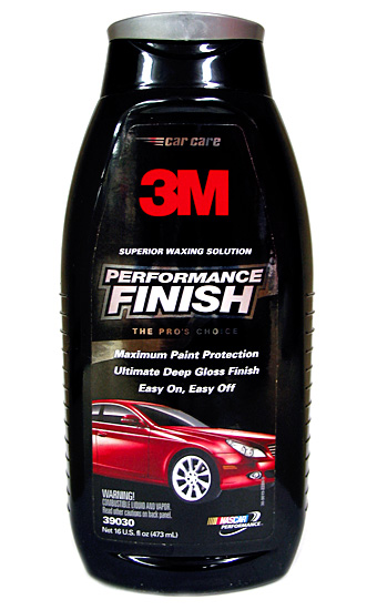 3m Performance Finish Wax 16 Oz Mmm39030