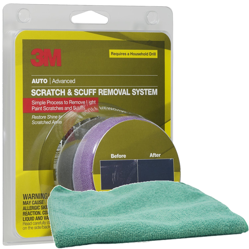 Microfiber Cloth Remove Scratches: 3M Scratch Remover Kit & Microfiber Cloth Kit