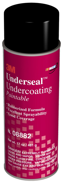 Image of 3M Underseal Rubberized Black Undercoating 17 oz