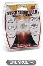 50 Watt 3156 Style Halogen Super Bright Back-Up Bulb
