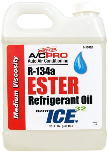 Image of A/C Pro R-134a Ester Refrigerant Oil w/ICE 32 32 oz