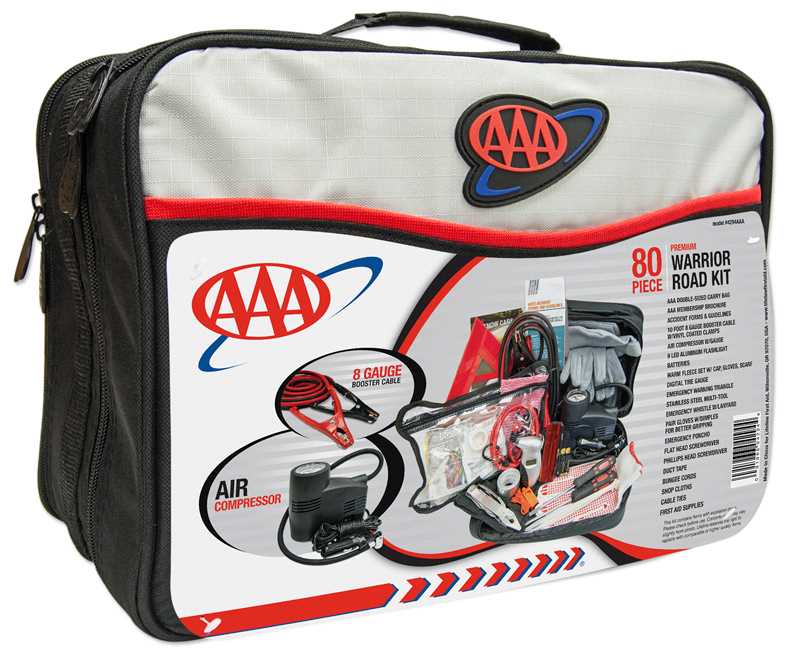 Image of AAA Road Warrior 80 Piece Emergency Kit