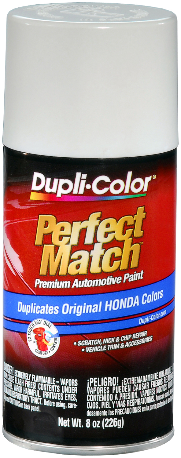 Image of Acura Honda and Isuzu Frost White Auto Spray Paint - NH538 1990-1998