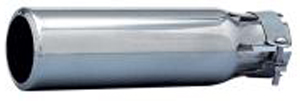"Image of ""Airflow Chrome Universal Exhaust Extension Tip (1"""" to 2"""" x 9"""")"""