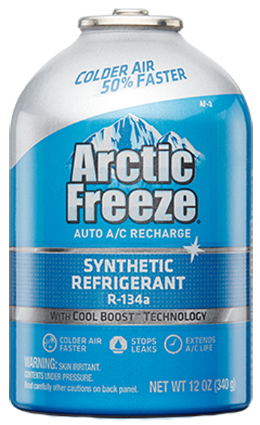 Image of Arctic Freeze Ultra Synthetic Refrigerant R-134a (12 oz.)