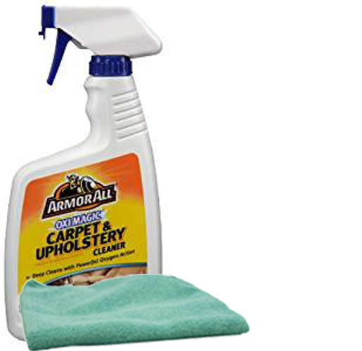 armor all oxi magic carpet and upholstery cleaner 22 oz microfiber cloth kit arm78260kit. Black Bedroom Furniture Sets. Home Design Ideas