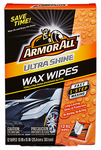 Armor All Ultra Shine Wax Wipes (12 Count)