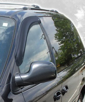 Auto Ventshade 92305 Chrysler Town & Country Dodge Caravan Plymouth Voyager 2-Piece VentVisor (1996-2007)
