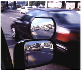 Auxiliary Wide Angle Side-View  Mirror Attachment (Large)