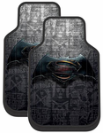 Batman vs Superman Rubber Floor Mats (Pair)