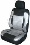 Black/Gray Everest Universal Bucket Seat Cover (Pair)