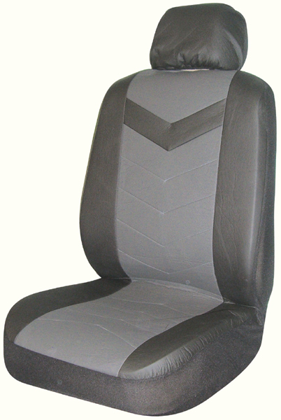 Image of Black Rainer Universal Bucket Seat Cover (Pair)