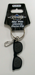 Black Sunglasses Keychain