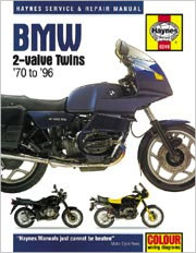 BMW 2-Valve Twins Haynes Repair Manual 1970 - 1996