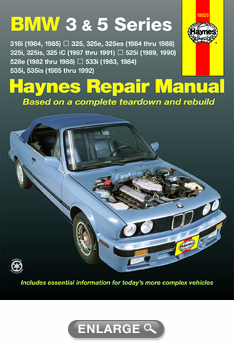 1989 bmw 525i wiring diagrams bmw 3 amp 5 series haynes repair manual 1982 1992 hay18020 #14