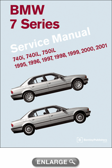 BMW 7 Series (E38) Service Manual: 1995-2001