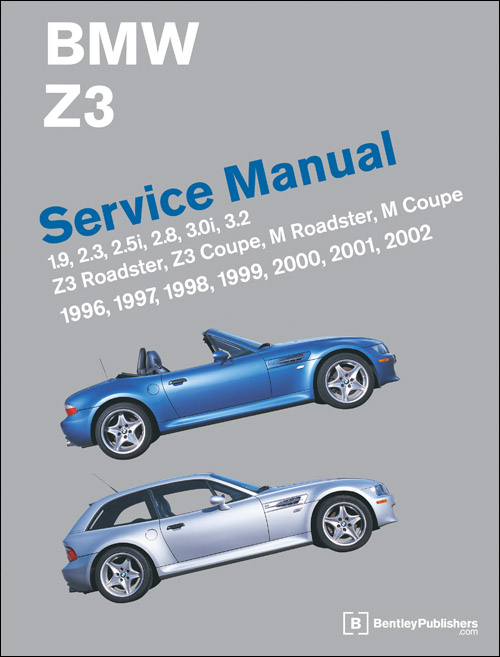 bmw z3 service manual 1996 2002 xxxbz02 rh autobarn net bmw 2000 z3 owners manual 2000 BMW Z3 Coupe