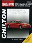Buick Century, Regal, Chevy Lumina, Monte Carlo, Oldsmobile Cutlass Supreme, Intrigue, Pontiac Grand Prix Chilton Manual (1997-2000)