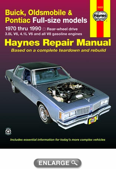 buick oldsmobile pontiac full size models haynes repair manual rh autobarn net Haynes Repair Manual Online View Online Repair Manuals