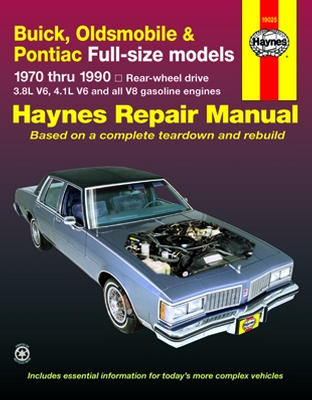 buick oldsmobile pontiac full size models haynes repair manual rh autobarn net Buick Century Fuel System Common Problems with Buick Century